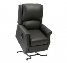 Chicago Riser Recliner Chair Black