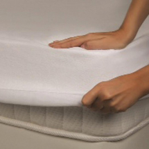Waterproof Terry mattress protector Single
