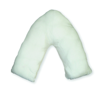 Wipe Clean V-shaped pillow
