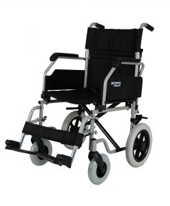 Car Transit Wheelchair Avant - swing away footrests.