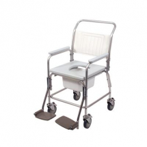 Aluminium Mobile Shower Commode
