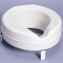 Premium Raised Toilet seat 4inch White (Without Lid)