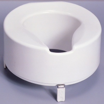 Premium raised Toilet seat 6inch White (Without Lid)