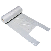 Vest Carriers on Rolls - Clear