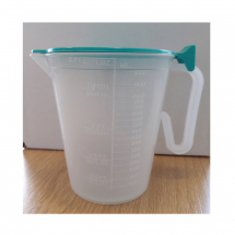 Water Jug with Lid - 1ltr