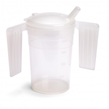 Warwick beaker with 2 easy grip handles 250ml