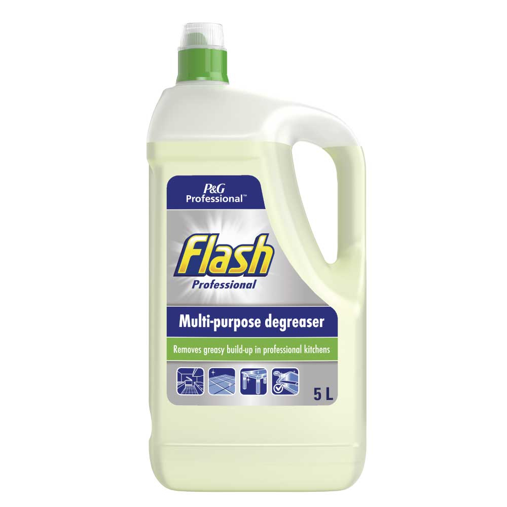 Flash professional heavy duty degreaser 5ltr