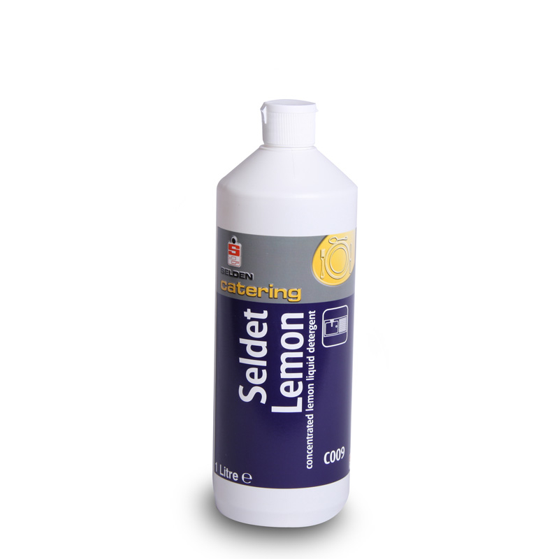 Seldet lemon washing up liquid 20% 1l C009