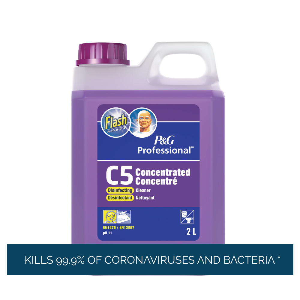 Flash Pro system concentrated disinfecting cleaner C5 2l