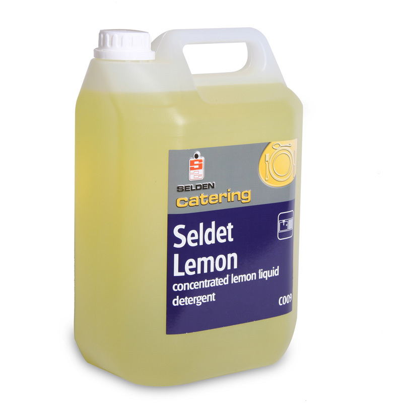 Seldet lemon washing up liquid 20% 5l C009