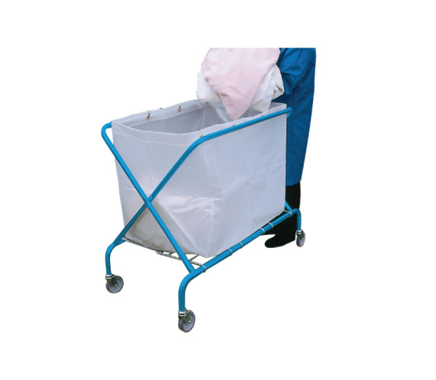 Heavy Duty White Vinyl Bag for Service Trolley