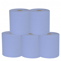 Centre Pull/Feed Roll 2 ply Blue