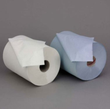 MINI Centre Pull/Feed Roll 2 ply White