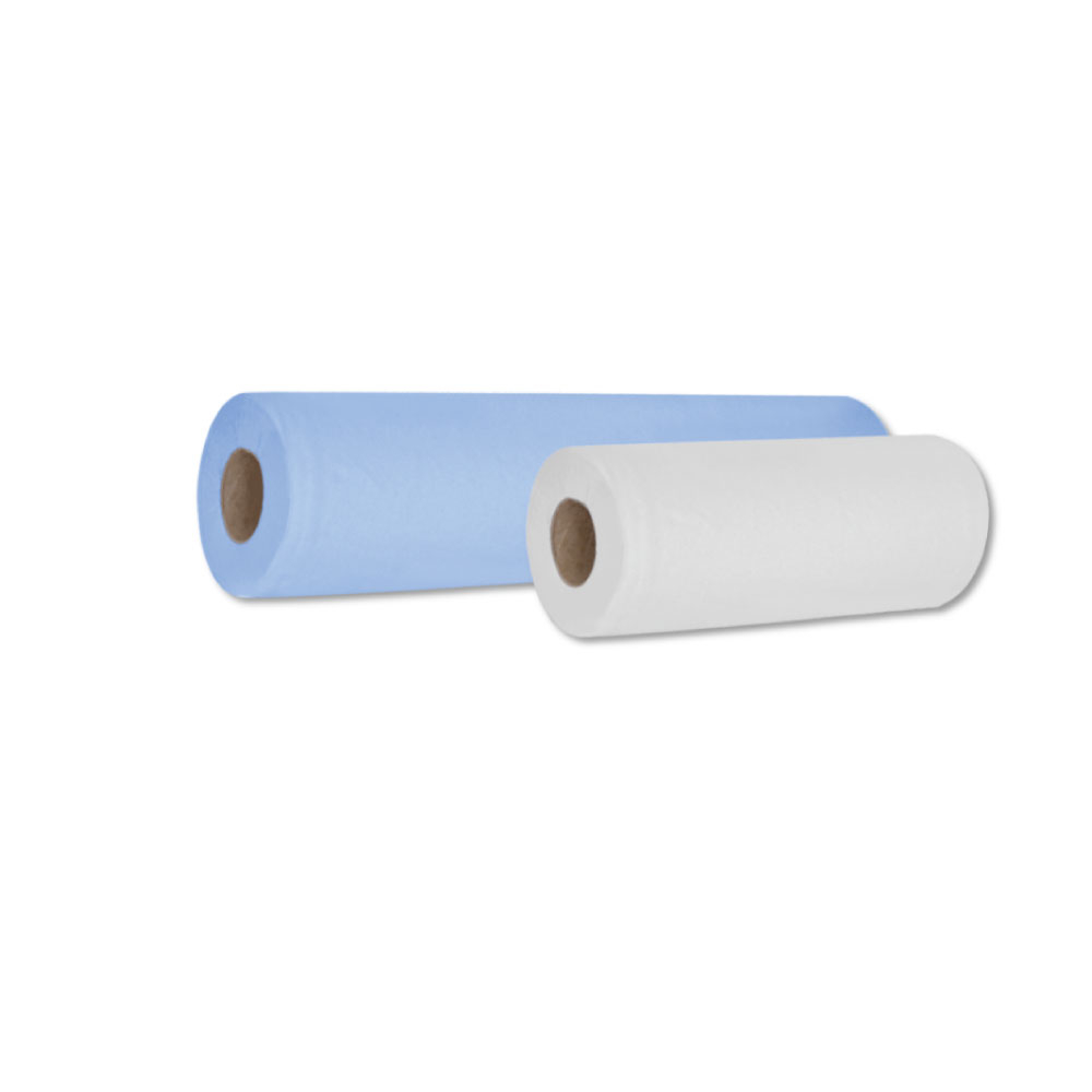 Couch/Hygiene Rolls, 10inch wide 2 ply White