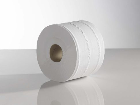 Micro Mini Toilet Roll, 120mtr 2 ply.