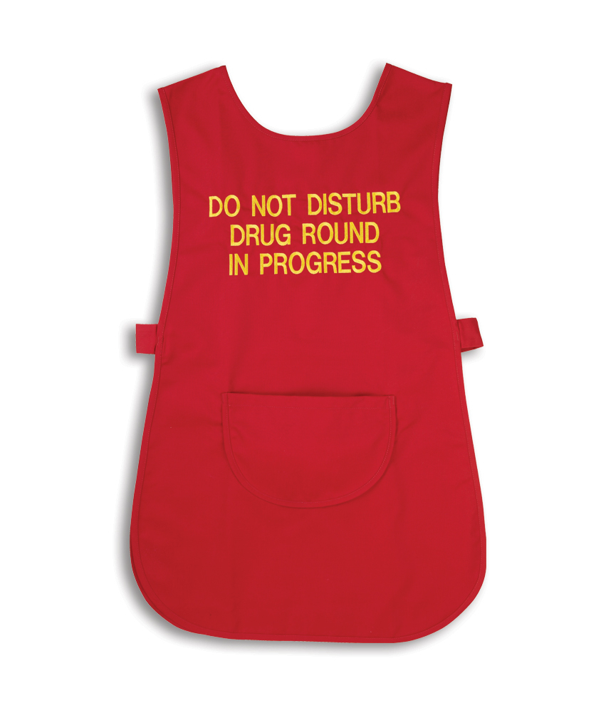 Red Tabard without pocket - Large